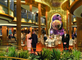 Croisieres de luxe Cunard Croisière britannia restaurant
