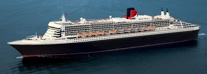 Voyages de luxe Cunard croisieres Line - Queen Mary 2 QM2 2021