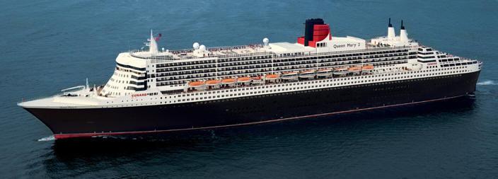 Croisieres de luxe Cunard Croisière Line - Queen Mary 2 QM2