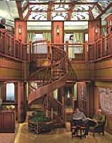 Croisieres de luxe Cunard Croisière qv library