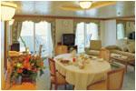 CROISIERE de luxe Croisiere Seven Seas Navigator Chambre Grande Suite