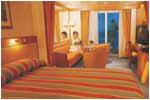 CROISIERE de luxe Croisiere Seven Seas Navigator Chambre Suite Standart avec Balcon