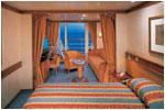 CROISIERE de luxe Seven Seas Mariner Suite De Luxe Cat D-H